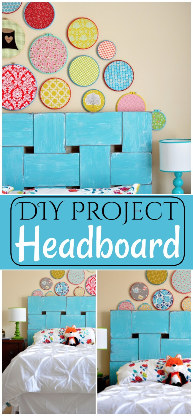 DIY Project Headboard