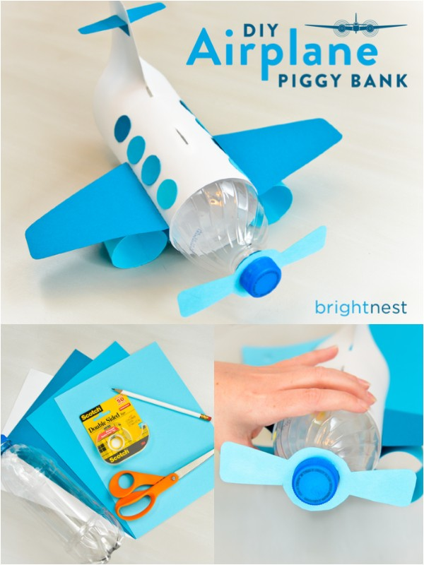 Diy Piggy Bank Out Of A Plastic Bottle