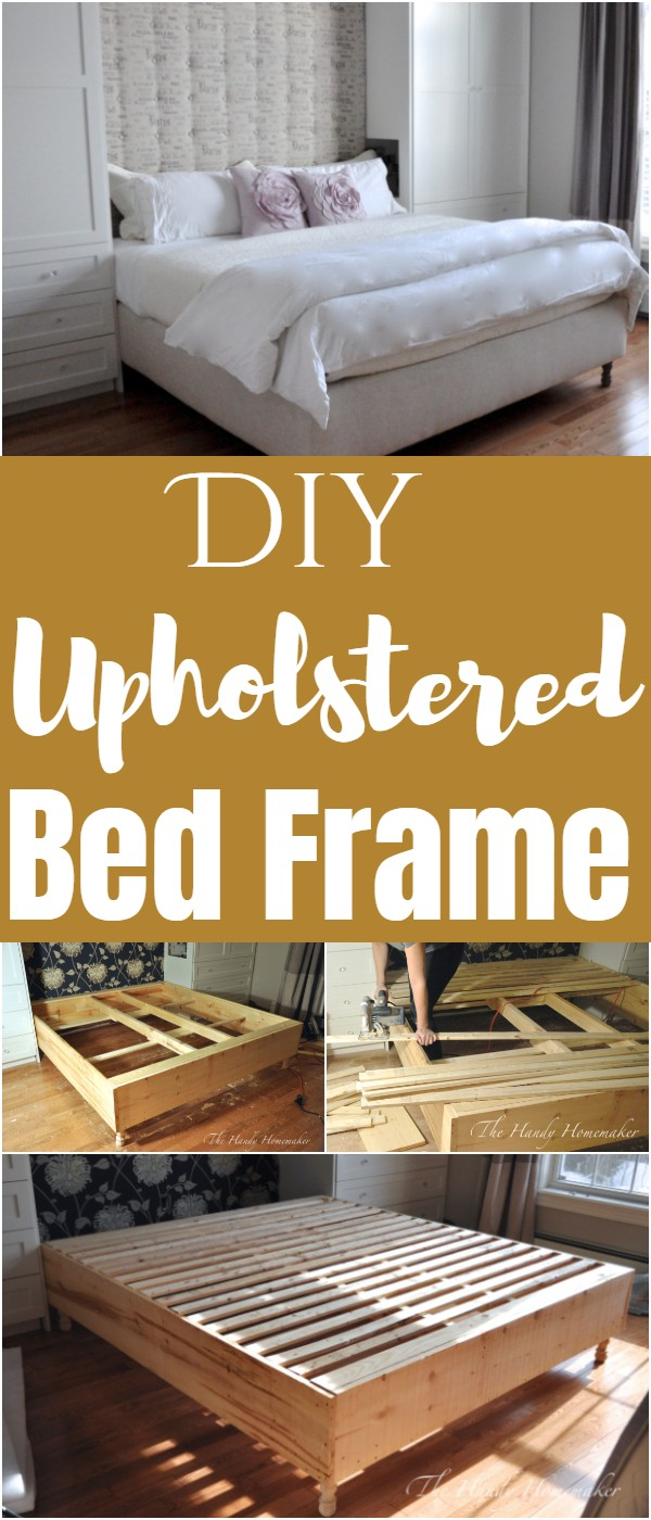 Diy Upholstered Bed Frame