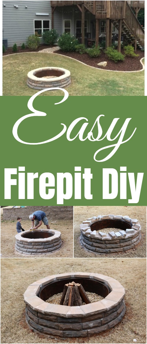 Easy Firepit Diy