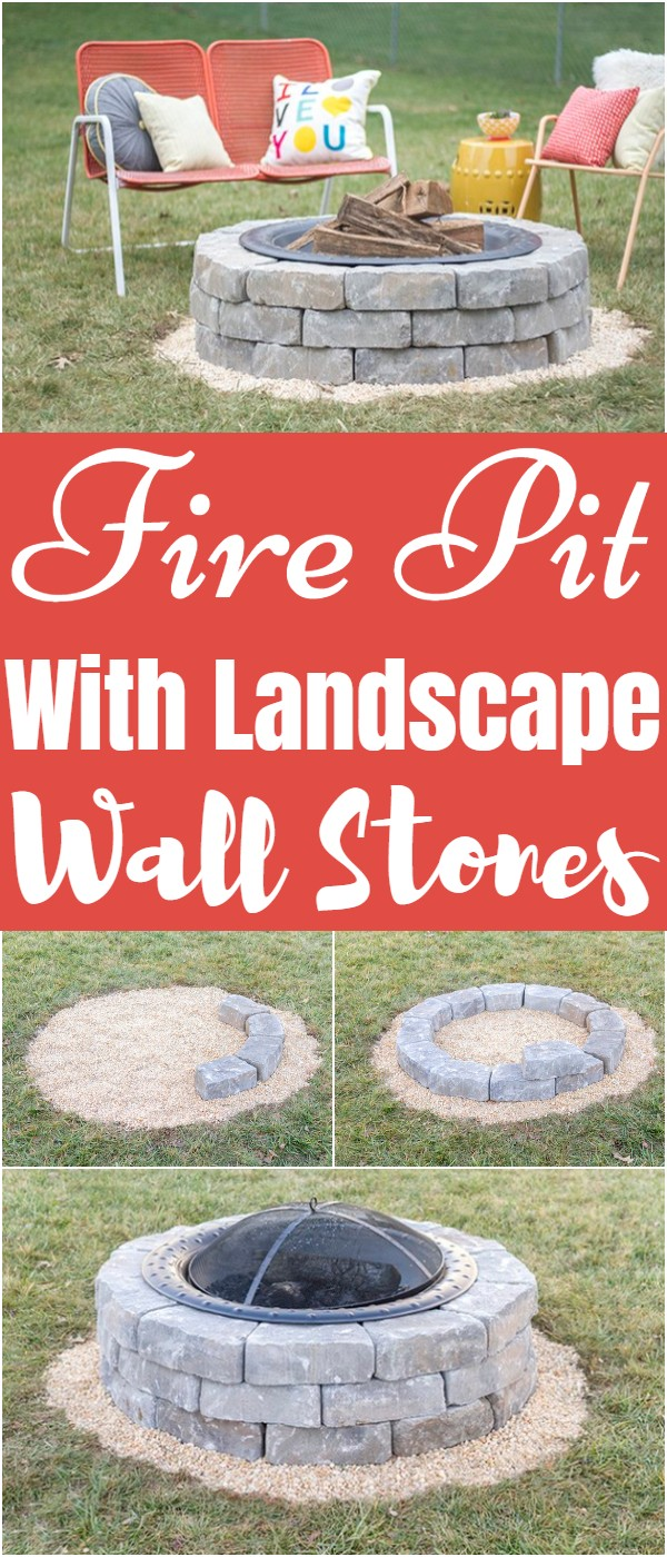 With Landscape Wall Stones