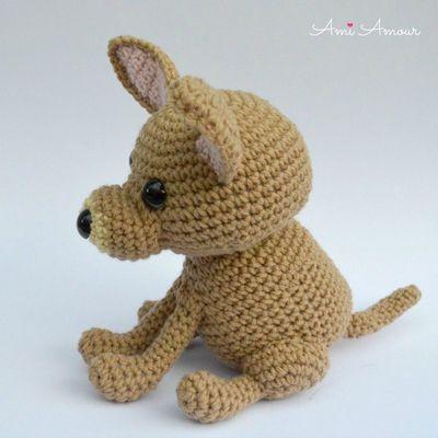 Free Crochet Chihuahua Dog Amigurumi Pattern