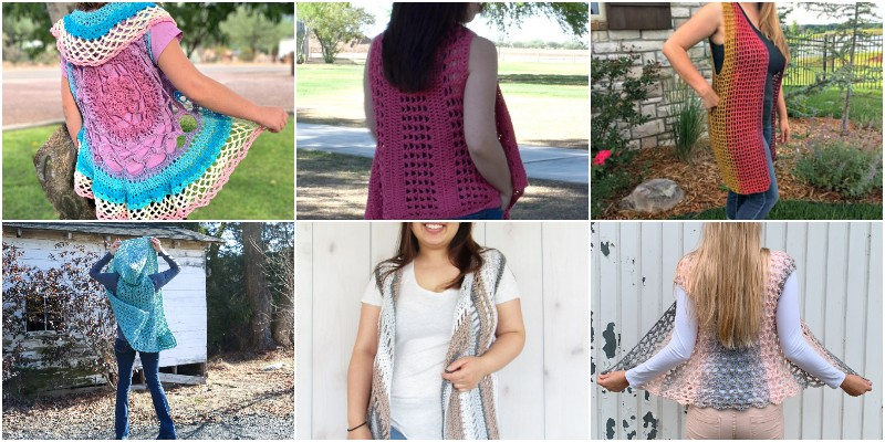 Free Crochet Vest Patterns 1