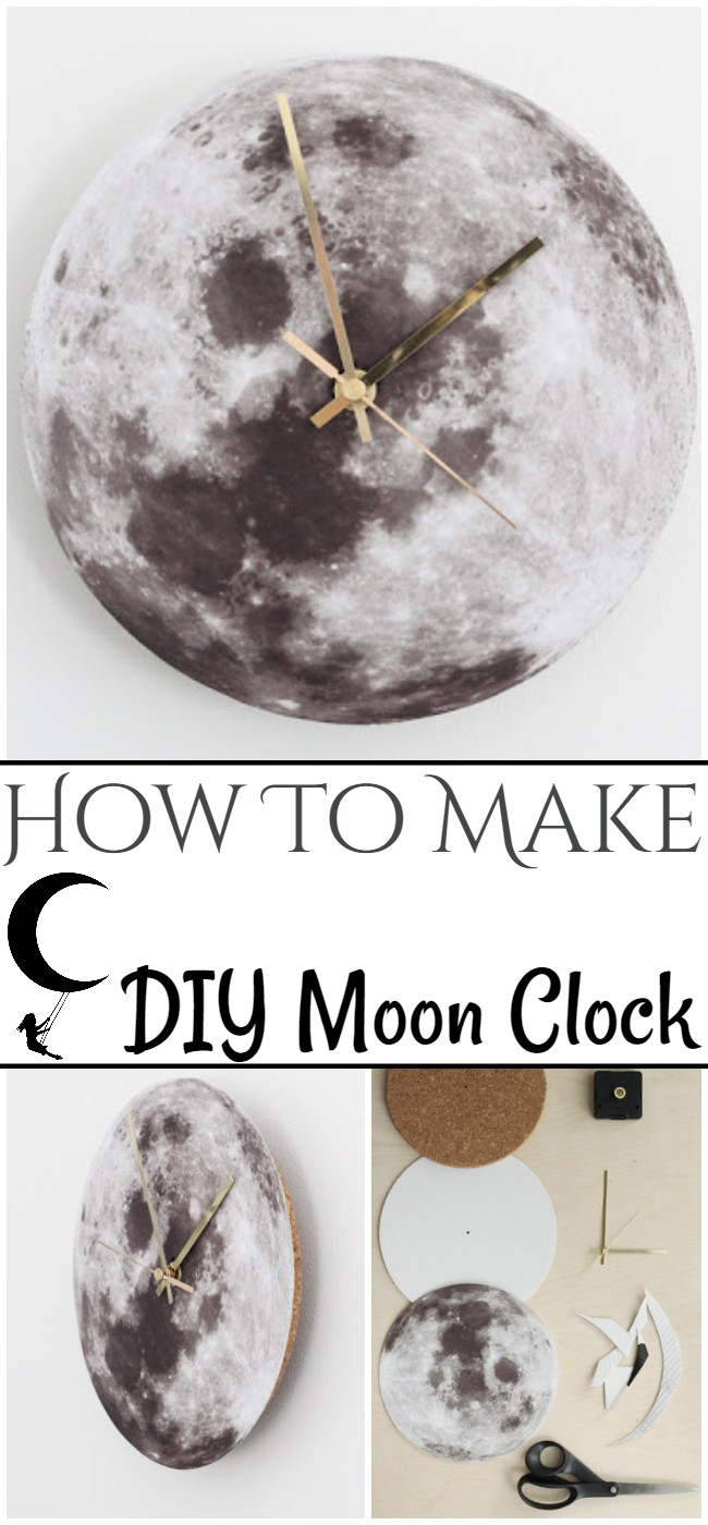 How To Make DIY Moon Clock