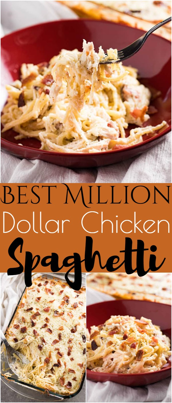Million Dollar Chicken Spaghetti