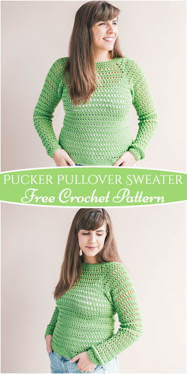 Pucker Pullover Sweater