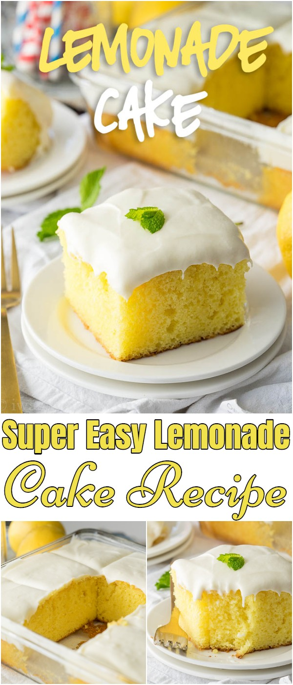 Super Easy Lemonade Cake Recipe