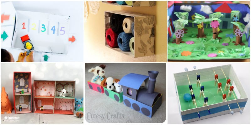 Best DIY Shoebox Crafts Ideas