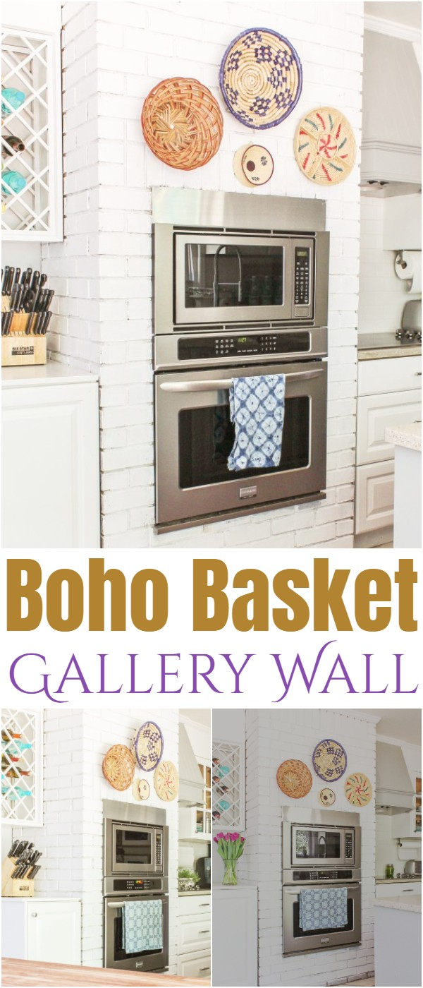Boho Basket Gallery Wall