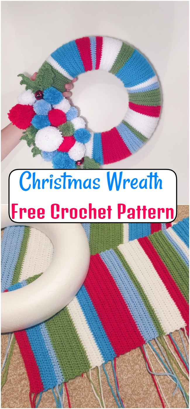 Christmas Wreath Crochet Pattern
