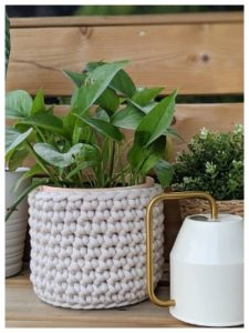 Crochet Plant Cover Patterns