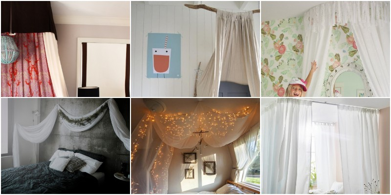 DIY Bed Canopy Ideas That Bring Magic To Your Bedroom 1