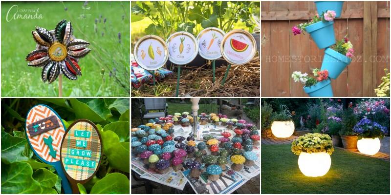 DIY Garden Crafts