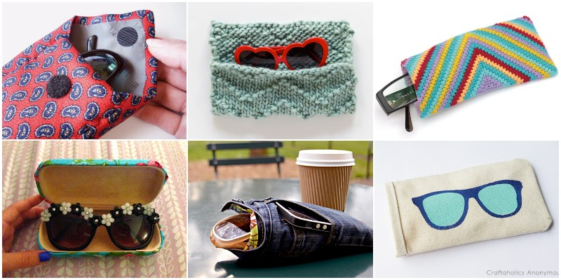 DIY Glasses & Sunglasses Case Ideas To Keep Them Secure