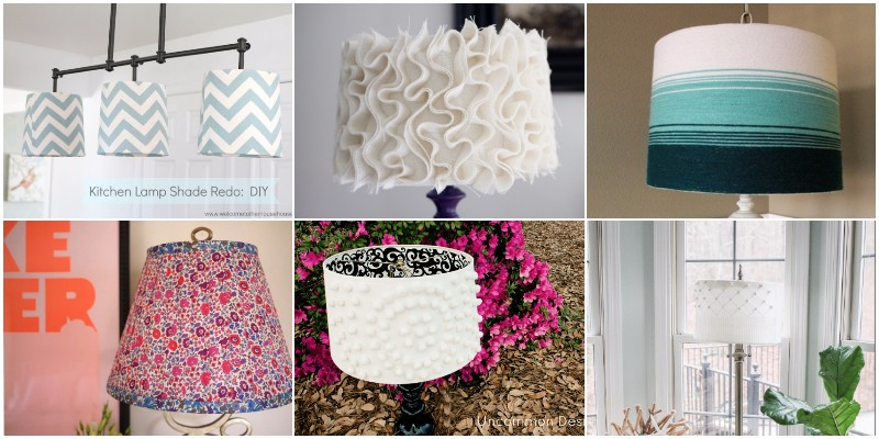 DIY Lampshade Makeover Ideas To Renovate Your Lamps 1
