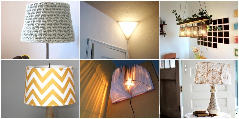 DIY Lampshade Makeover Ideas To Renovate Your Lamps