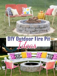 DIY Outdoor Fire Pit Ideas