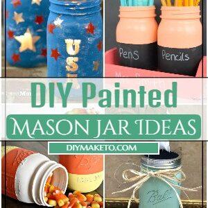 DIY Painted Mason Jar Ideas 1