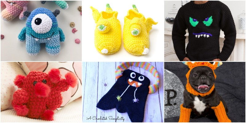 Free Crochet Monster Patterns