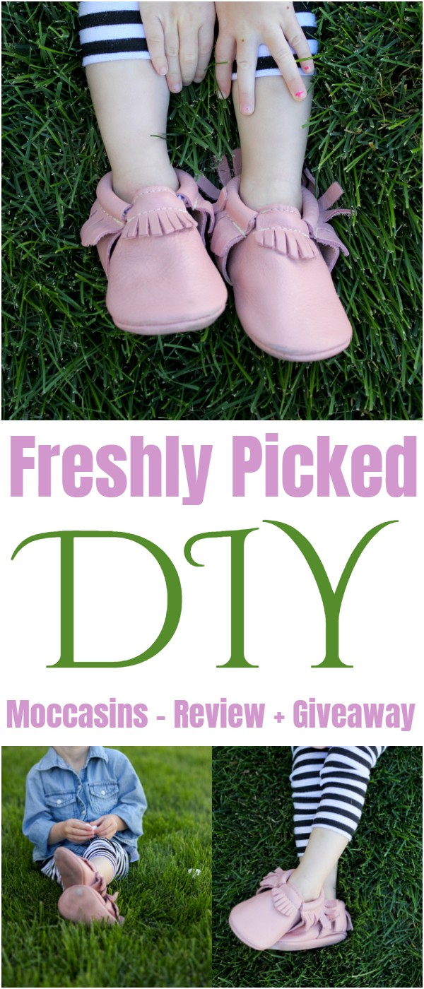 Freshly Picked DIY Moccasins – Review + Giveaway