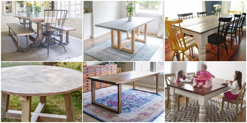 Interesting And Cheap DIY Table Projects And Ideas 1
