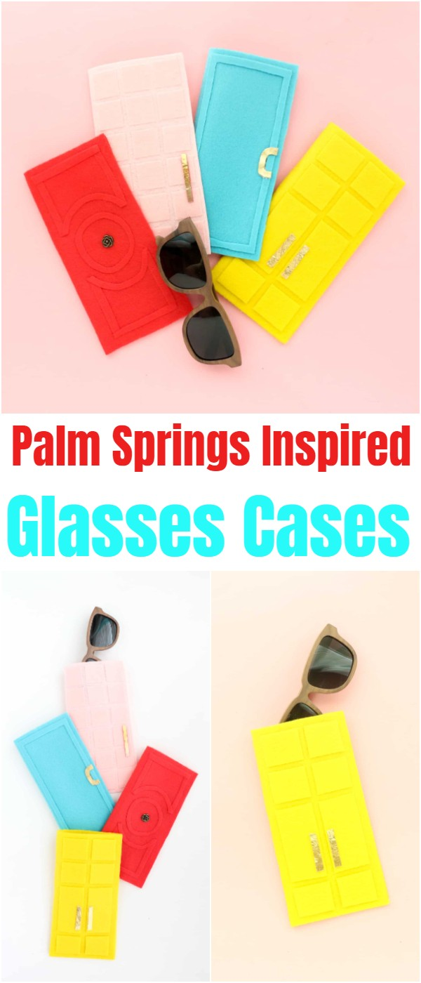 Palm Springs Inspired Glasses Cases