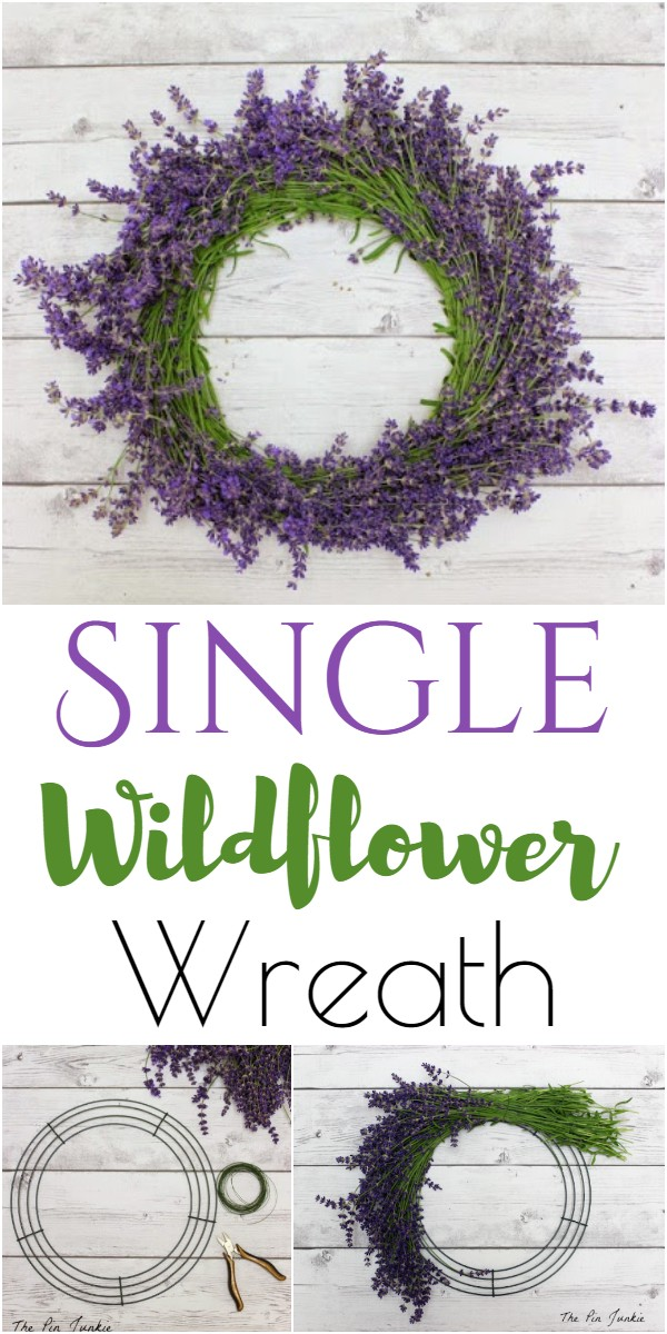 Single Wildflower Wreath