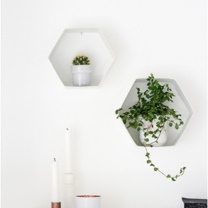Easy And Cheap DIY Hexagon Projects To Beautify Your Home