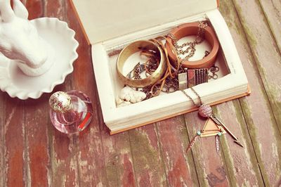 DIY Jewelry Box Idea