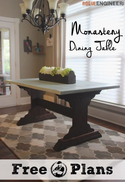 DIY Monastery Dining Table