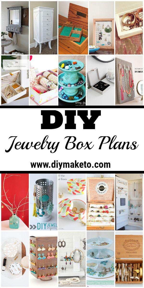 Diy Jewelry Box Plans