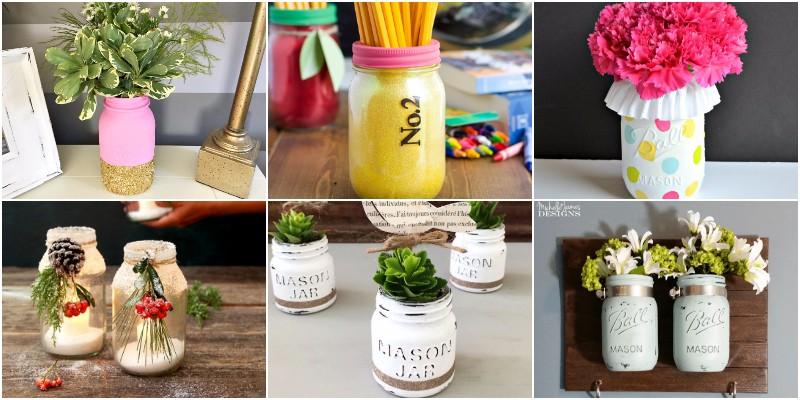 DIY Mason Jar Centerpiece Ideas