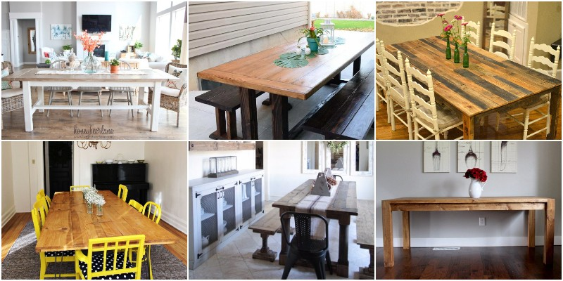 DIY Pallet Dining Table Ideas And Projects 1