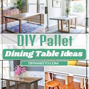 DIY Pallet Dining Table Ideas And Projects 2