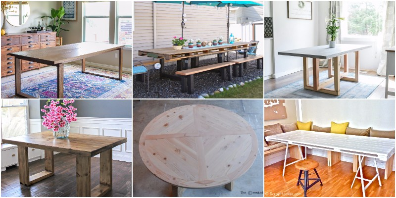 DIY Pallet Dining Table Ideas And Projects