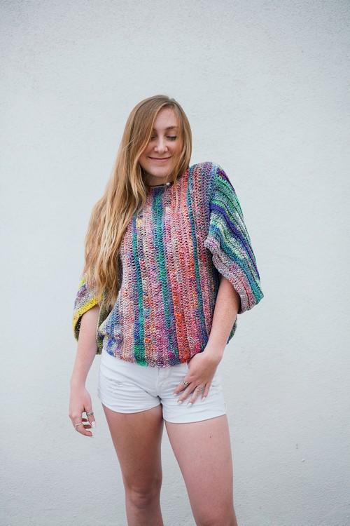 Bifrost Free Crochet Top Pattern