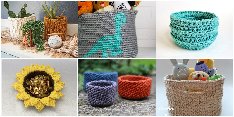 Crochet Basket Patterns 1