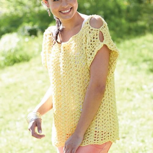 Crochet Scalloped Top Pattern