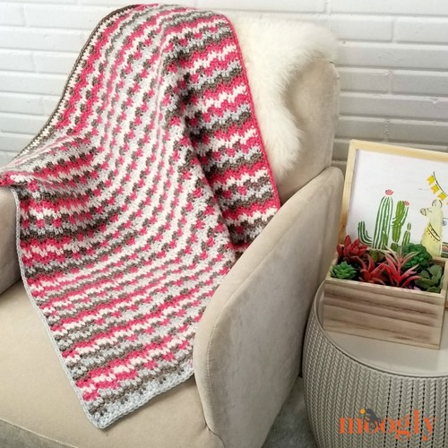 Crochet Sleepy Blocks Blankie