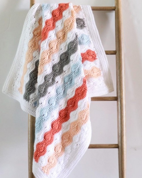 Crochet Stitch Baby Blanket Pattern
