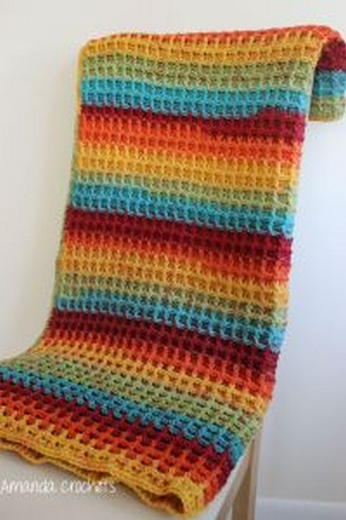 Crochet Stitch Blanket Pattern