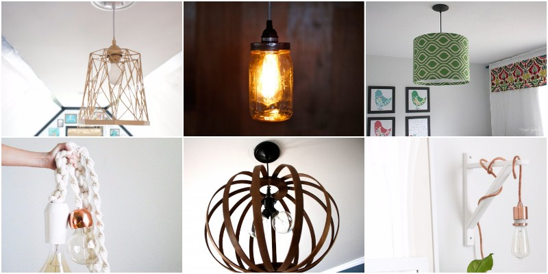 DIY Pendant Light Projects To Brighten Up Your Home