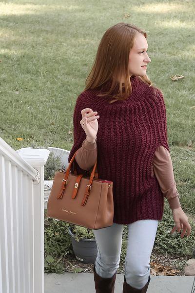 Free Crochet Amelia Poncho Pattern