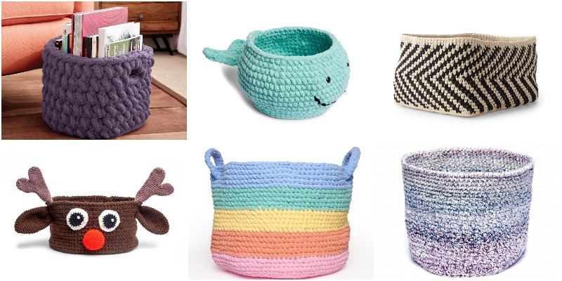 Free Crochet Basket Patterns
