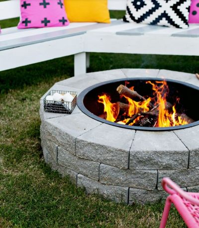 How To Make Your Own DIY Fire Pit In just 4 Steps