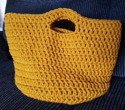 Quick Easy Free Crochet Basket Pattern