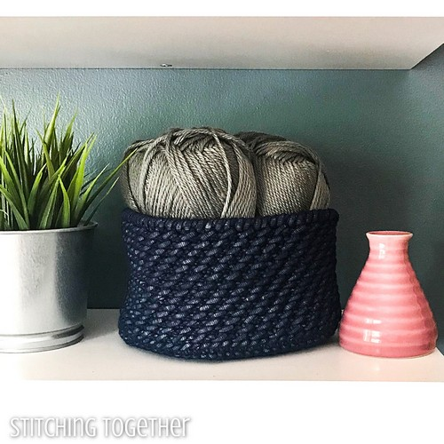 The Beverly Free Crochet Basket Pattern