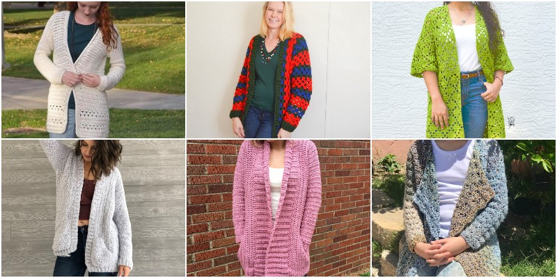 Free Crochet Cardigan Patterns 1