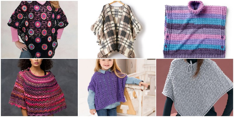 Crochet Poncho Patterns 1