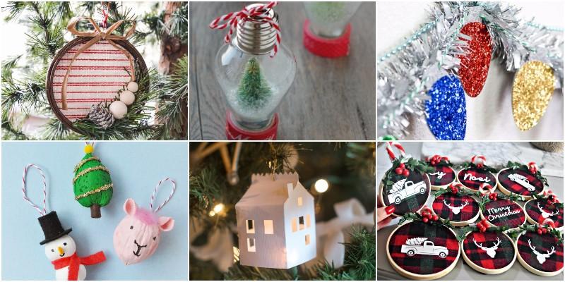 Best Handmade DIY Christmas Ornaments 1